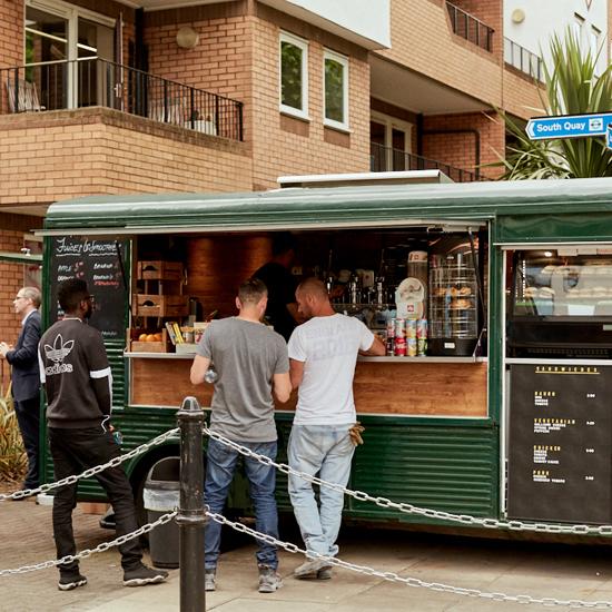 Harbour Exchange local amenities